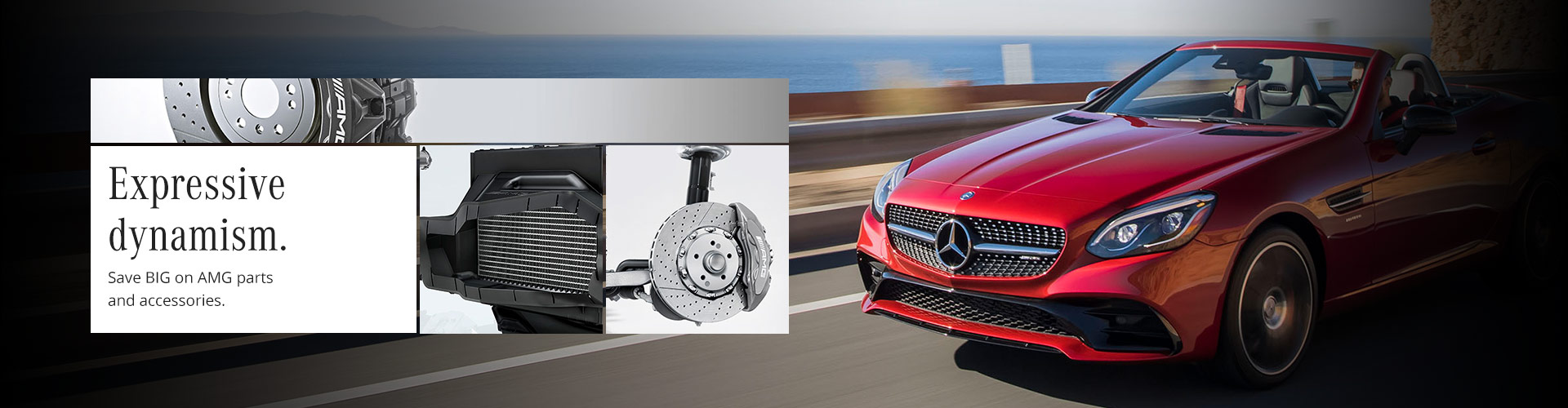 Mercedes-Benz AMG parts and accessories