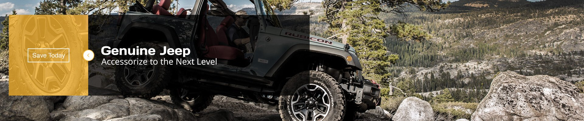 Jeep Genuine Accessories