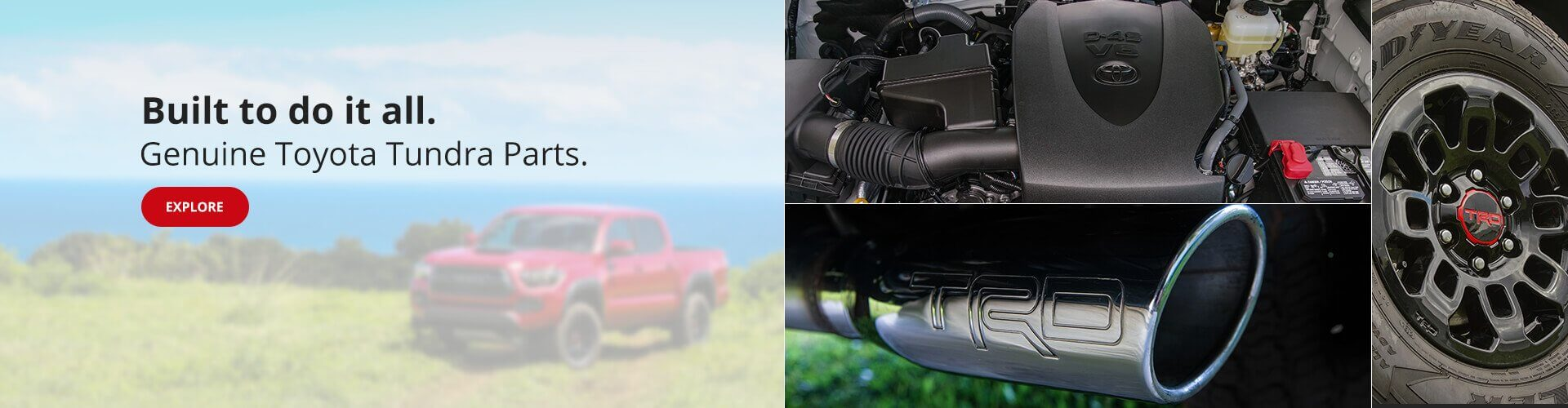 Genuine Toyota Tundra Parts & Accessories
