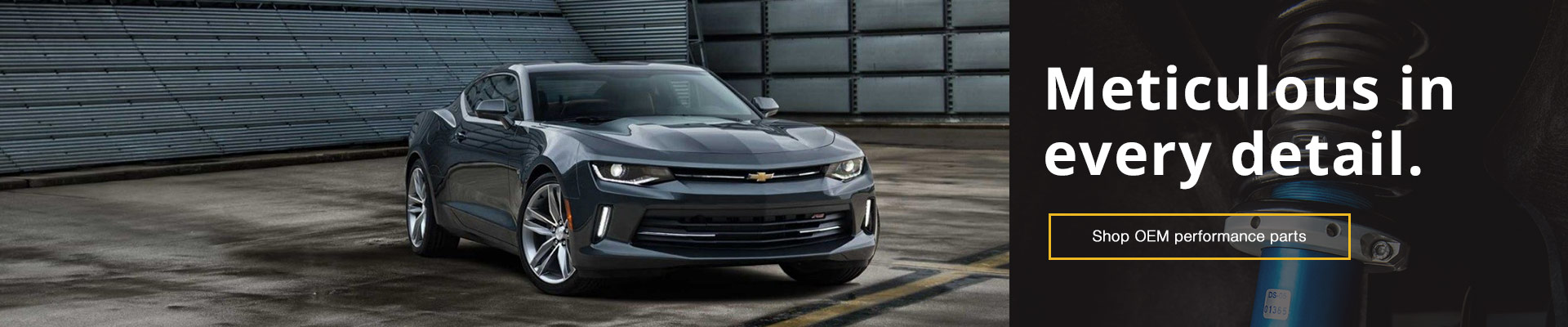 Genuine Chevrolet Camaro Parts & Accessories