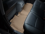 2007 - 2014 Toyota Tundra Double Cab Tan Rear FloorLiner