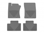 2012 - 2014 Toyota Prius C Grey Front and Rear Rubber Mats