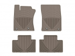 2012 - 2013 Toyota Tacoma Tan Front and Rear Rubber Mats