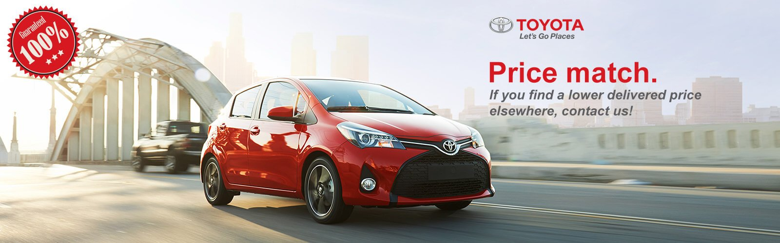 Toyota genuine parts price match