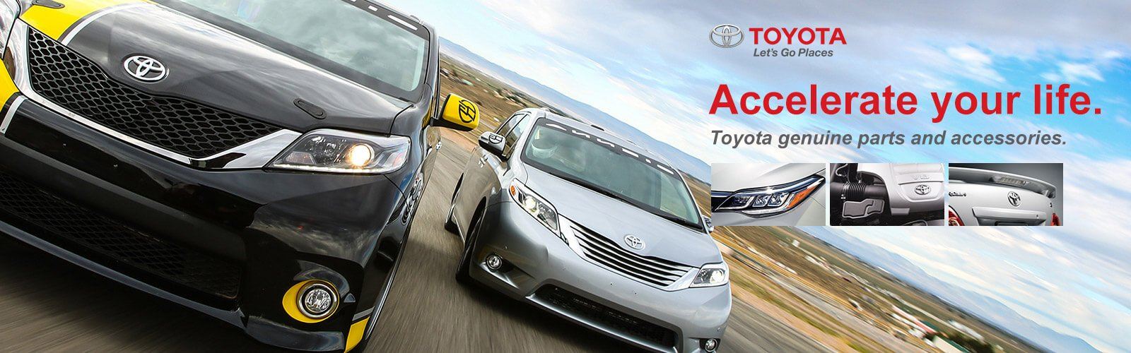 Toyota genuine parts and accessories