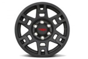 TRD PRO 17-IN. MATTE BLACK ALLOY WHEEL  We expect stock by the end of September