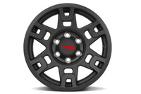 TRD PRO 17-IN. MATTE BLACK ALLOY WHEEL