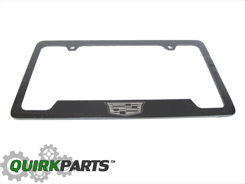 License Plate Frame, Cadillac Crest - GM (19330368) | Quirk Parts