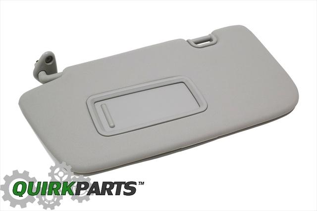 2008-2014 Subaru Impreza Interior Left Hand Sunvisor   Shade with Mirror  OEM NEW - Subaru (92011FG032ME) 7ad5e22ecd3