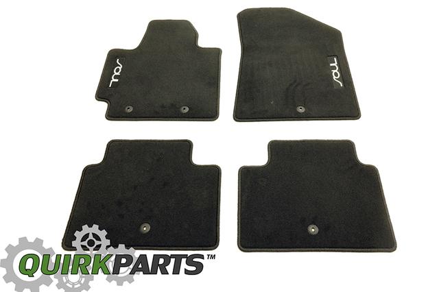2014 Kia Soul Black Carpet Floor Mats OEM BRAND NEW Genuine Part #  B2F14 AC000