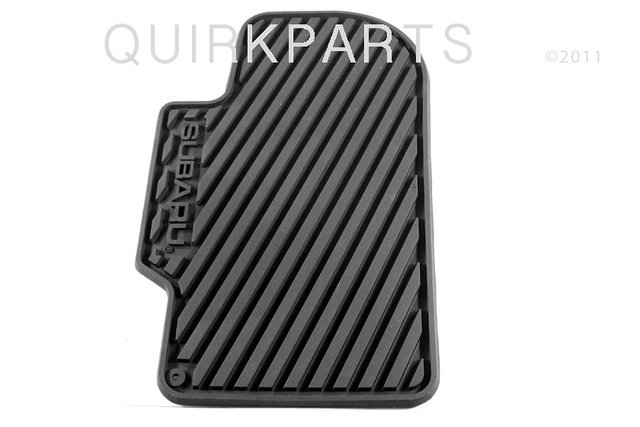 2000-2007 Subaru Impreza & WRX & STi All Weather Floor Mats Rubber OEM NEW