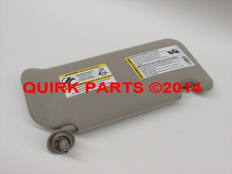 2002-2007 Saturn Vue Left Hand Driver Side Grey Sun Visor Shade OEM NEW  Genuine ba8d0da7507
