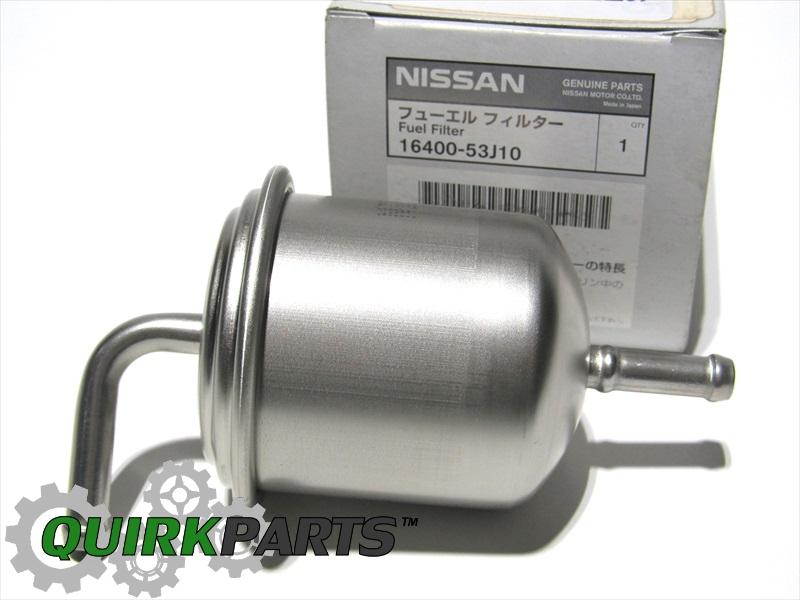 Fuel Filter Nissan 1640053j10 Quirk Partsrhquirkparts: Fuel Filter On 2002 Nissan Altima At Gmaili.net