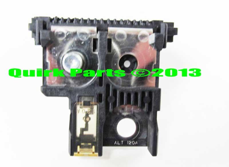 2002 2008 nissan altima murano maxima positive fuse block holder rh quirkparts com 2004 Nissan Altima Fuse Box Diagram 2003 Nissan Altima Fuse Box Diagram
