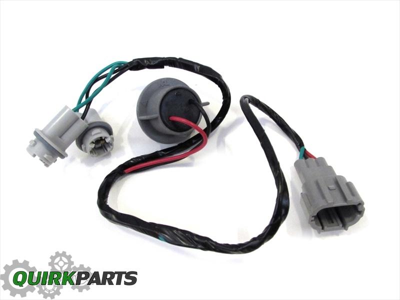 2000 2014 nissan frontier headlight wiring harness cable oem new rh quirkparts com Dodge Headlight Wiring Harness Headlight Repair Plug