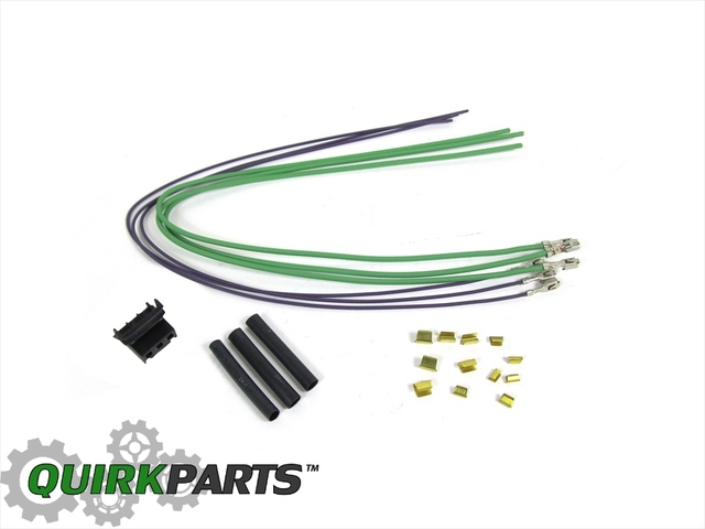 99-04 JEEP WRANGLER AIR CONDITIONING VACUUM SWITCH WIRING HARNESS MOPAR GENUINE