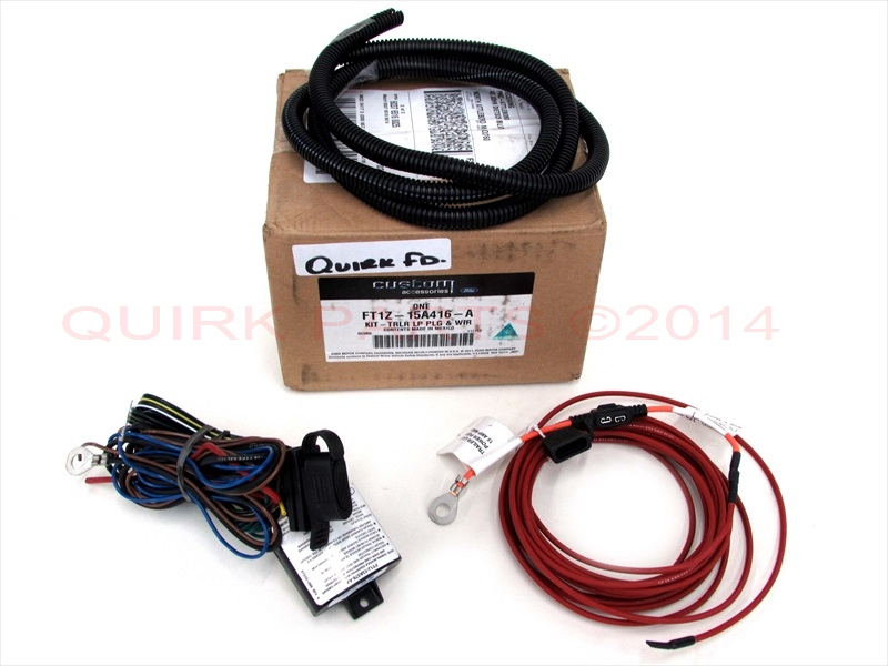 Ford Edge Transit Connect Lincoln Mkc Trailer Tow Wire Harness Kit 4 Way Pin Oem: Ford Edge Trailer Wiring Kit At Goccuoi.net