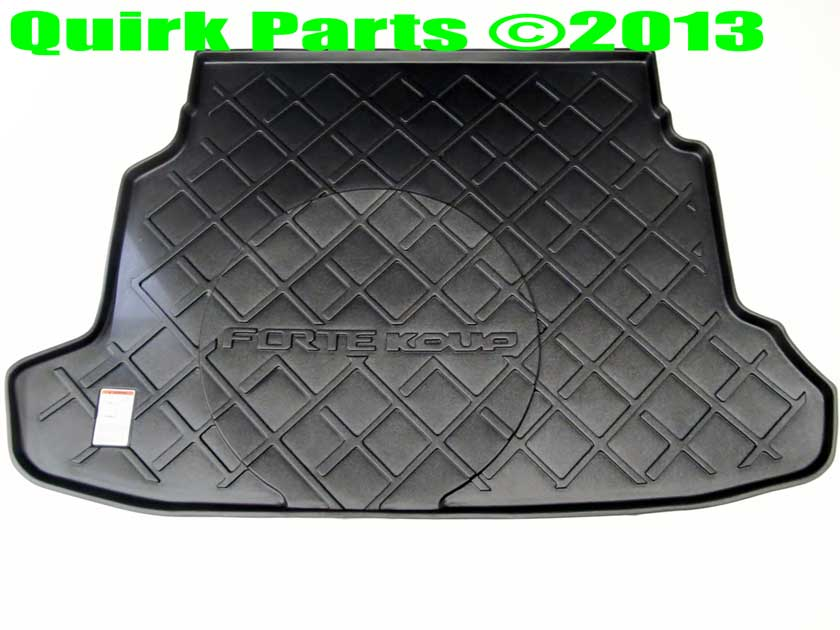 2011-2013 Kia Forte Koup Rubber Cargo Area Tray Genuine OEM BRAND NEW