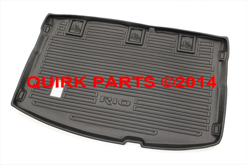 2012-2013 Kia Rio5 Hatchback All Weather Cargo Tray OEM NEW Part # 1W012-ADU05