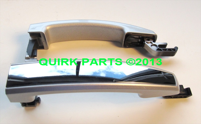 2013 Chevrolet Malibu & Buick Regal DOOR HANDLE PKG Silver Ice/Chrome OEM GM