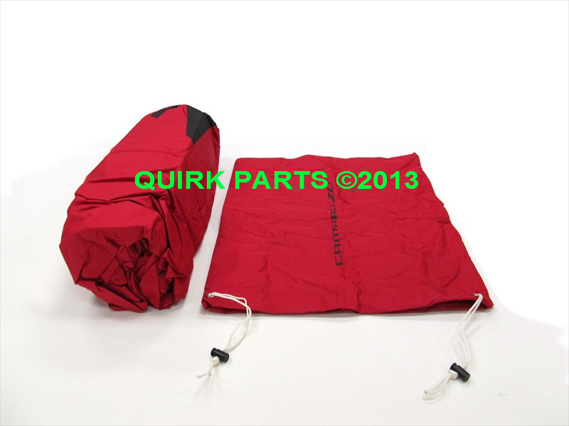 Chevy Camaro Coupe Outdoor Red Car Cover OEM NEW Genuine
