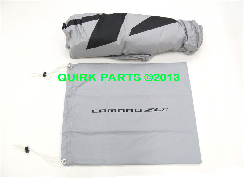 Chevy Camaro Coupe Outdoor Gray Car Cover OEM NEW Genuine