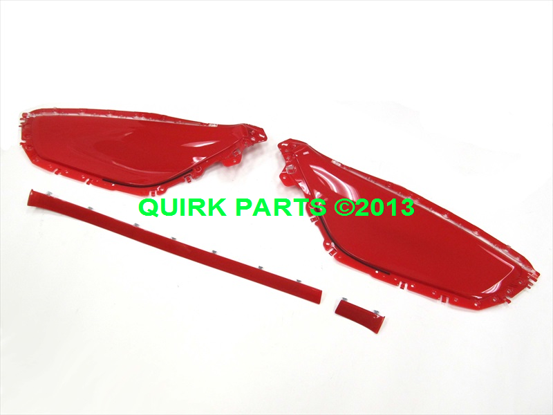 Chevy Camaro Inferno Orange Interior Trim Kit OEM NEW Genuine