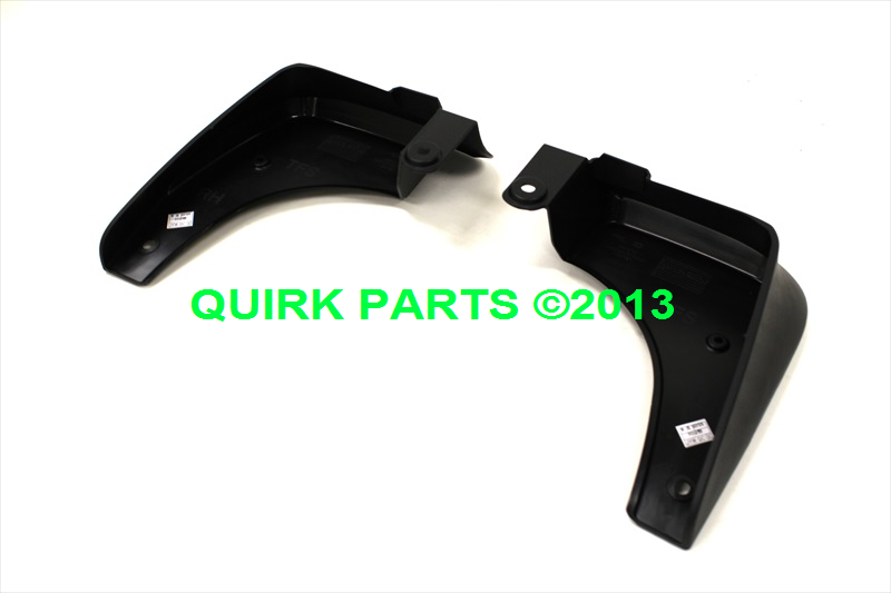 2010-2014 Kia Optima/Optima Hybrid Front Mud Guard Kit GENUINE OEM BRAND NEW