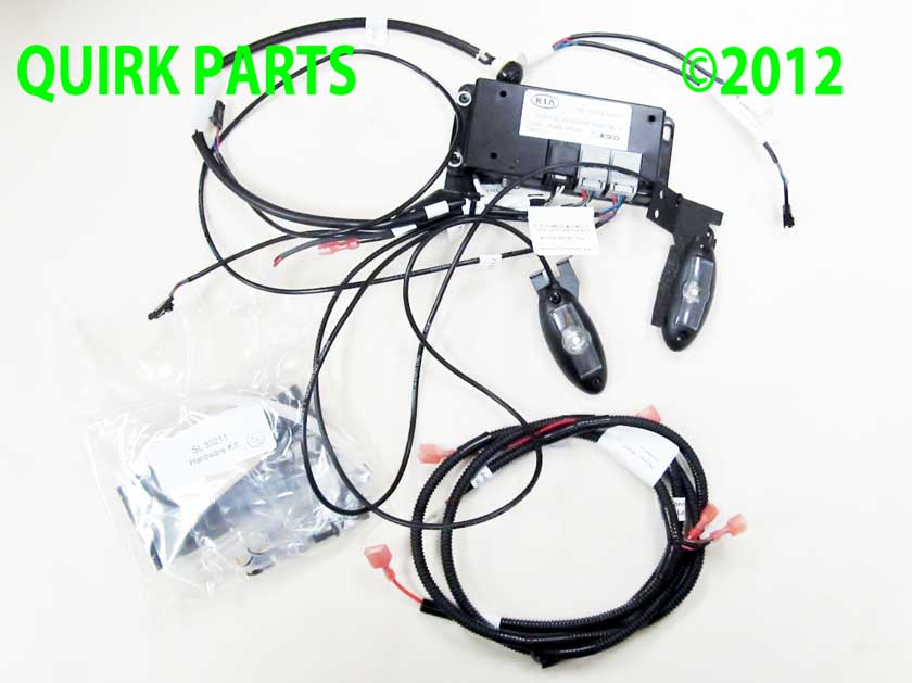 2010-2013 Kia Sportage Interior Lighting Effects Kit Genuine OEM BRAND NEW