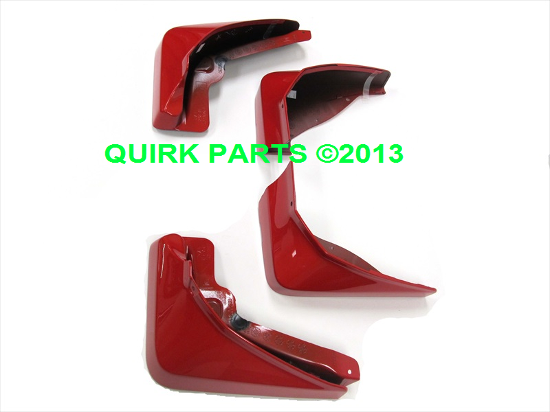 2010-2013 Chevy Camaro Front & Rear Molded Splash Guards OEM NEW Genuine