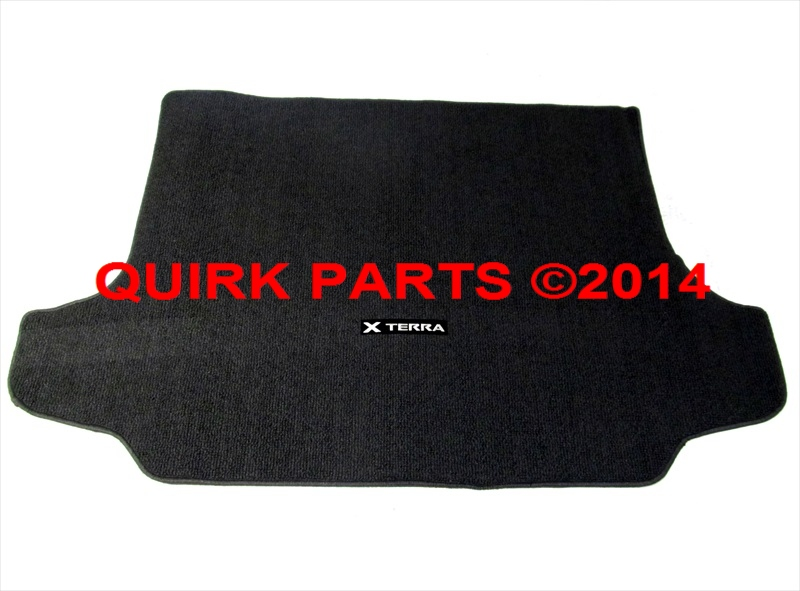 2005-2014 Nissan Xterra Rear Trunk Black Carpeted Cargo Area Liner Mat OEM NEW