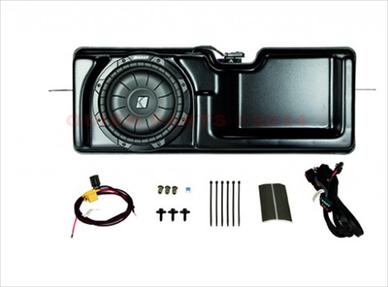 2009-2014 Ford F150 Super Crew Subwoofer Electrical Audio System Upgrade OEM NEW