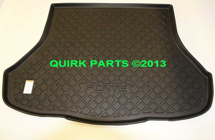 2014 Kia Forte Rubber ALL-WEATHER Cargo Area Tray Genuine OEM BRAND NEW