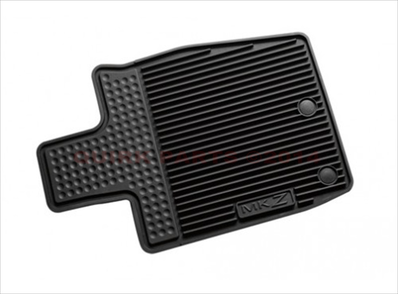 2013-2015 Lincoln MKZ All Weather Rubber Floor Mats Black Front & Rear OEM NEW