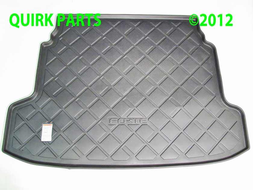 10-12 Kia Forte 4 Door Sedan Premium All Weather Cargo Mat Tray OEM BRAND NEW