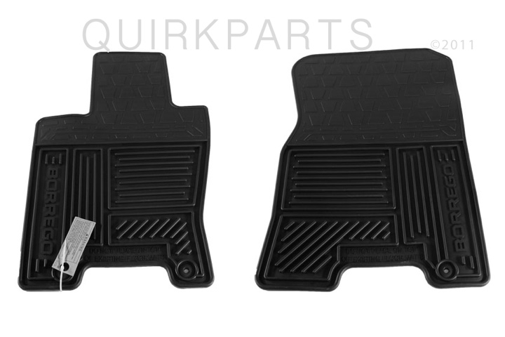 2009 KIA Borrego Floormats All Weather All 3 Rows GENUINE OEM BRAND NEW