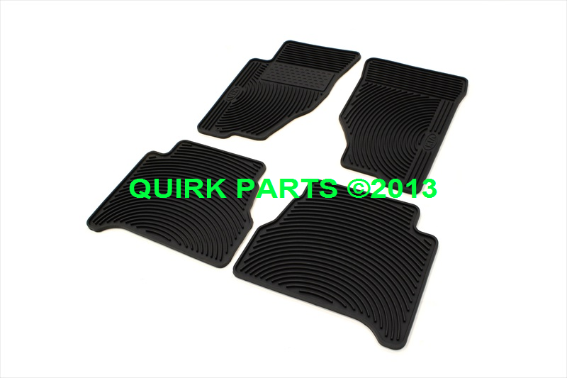 2003-2006 Kia Sorento All Season Weather Vinyl Floor Mats Set GENUINE OEM NEW