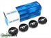 2015 Ford Mustang Black Wheel Hub Center Caps Covers Set Of 4 OEM NEW Factory Genuine - Limited Stock Available - FR3Z1130C