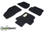 2006-2009 Mazda3/MazdaSpeed3 All Weather Floor Mats Genuine OEM NEW 0000-8B-L02A
