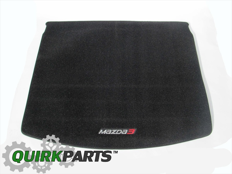2014 Mazda 3 5 Door) Rear Carpet Cargo Mat OEM BRAND NEW Genuine 0000-8B-L83
