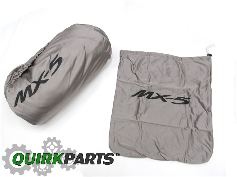 2006-2013 Mazda Miata MX5 Gray Indoor Satin Snug Fit Car Cover OEM NEW Genuine