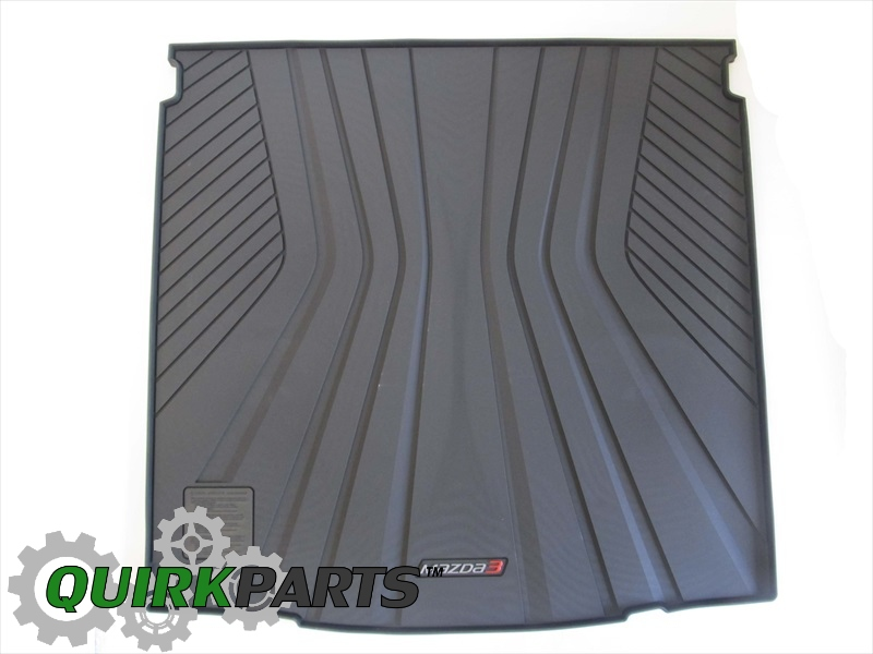 2014 Mazda 3 4 Door) Rear Rubber Cargo Tray OEM BRAND NEW Genuine 0000-8S-L03