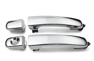 2007-2009 Chevrolet Equinox Pontiac Torrent Chrome Outside Door Handle Set of 4