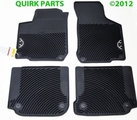 1998-2010 Volkswagen VW New Beetle All Season MONSTER MATS Set of 4 GENUINE OEM