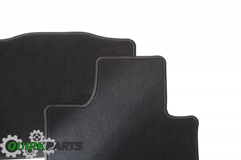 2014 Kia Cadenza Front & Rear Black Carpeted Floor Mats Set Of 4 OEM NEW Genuine
