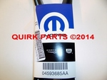 06-10 Chrysler 300 Dodge Charger&Magnum W/2.7LV6 SERPENTINE DRIVE BELT NEW MOPAR