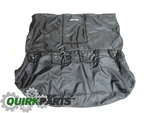 Rear Seat Covers With Jetta Logo - Black