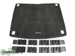 Heavy Duty Trunk Liner With Cargo Blocks