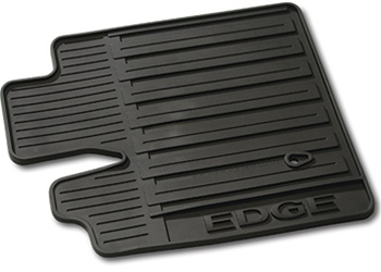 Ford Edge All Weather Rubber Floor Mats Black Set Of  Oem New Genuine