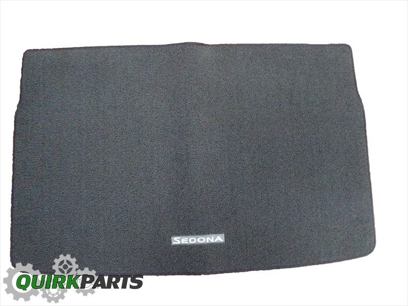 2015 Kia Sedona Cargo Area Floor Mats Genuine OEM NEW